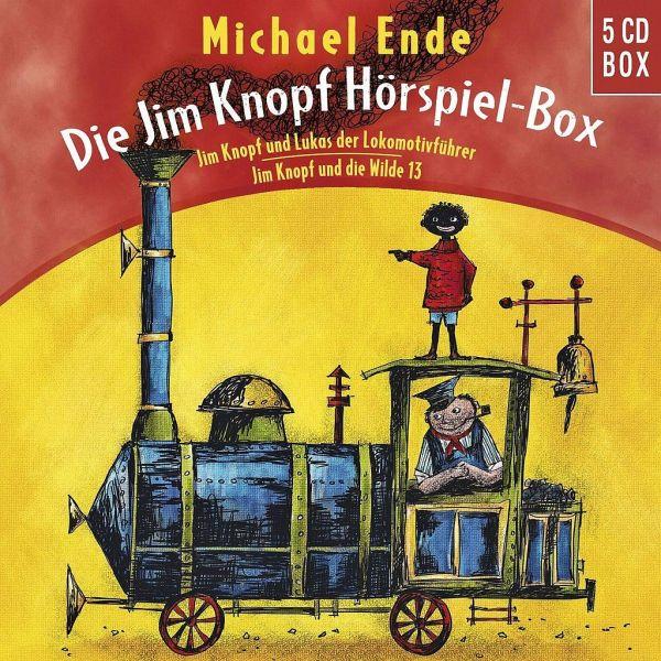 die jim knopf und lukas der lokomotivführer hörspiel-box, 5 audio-cds von michael ende
