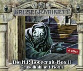 Gruselkabinett-Box, 4 Audio-CDs