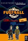 Leon, der Slalomdribbler & Felix der Wirbelwind / Die Wilden Fußballkerle Bd.1 & 2 (Mängelexemplar)