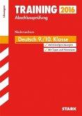 Training Abschlussprüfung Hauptschule Niedersachsen - Deutsch 9./10. Klasse Lösungen