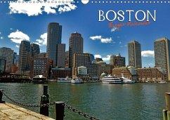 Boston - Ewiger Kalender (Wandkalender immerwährend DIN A3 quer) - Berndt, Stefan
