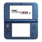 Nintendo New 3DS XL Konsole Blue Metallic