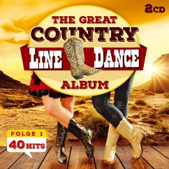 The Great Country Line Dance Album 40 Hits - Nashville Line Dance Band,The