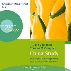 China Study - Die wissenschaftliche Begründung für eine vegane Ernährungsweise (MP3-Download) - Campbell, T. Colin