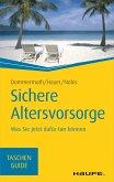 Sichere Altersvorsorge (eBook, ePUB)