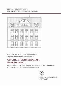 Geschichtswissenschaft in Greifswald (eBook, PDF)