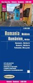 Reise Know-How Landkarte Rumänien, Moldau (1:600.000); Romania, Moldova / Roumanie, Moldavie / Romania, Moldavia
