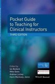 Pocket Guide to Teaching for Clinical Instructors (eBook, PDF)
