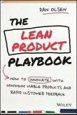 The Lean Product Playbook (eBook, ePUB)