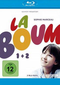 La Boum 1: Die Fete - Eltern unerwünscht, La Boum 2: Die Fete geht weiter BLU-RAY Box - Marceau,Sophie/Brasseur,Claude