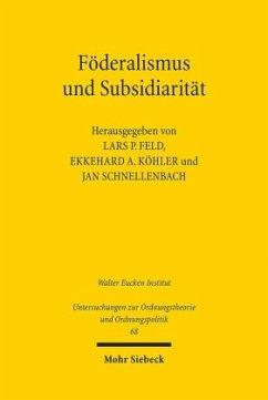 Föderalismus und Subsidiarität