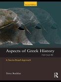 Aspects of Greek History 750-323BC (eBook, ePUB)