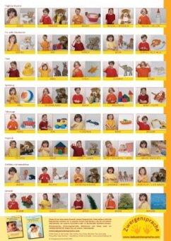 Babyzeichen-Plakat: Wichtigste Starterzeichen - König, Vivian