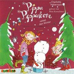 Pippa Pepperkorn rettet den Winter / Pippa Pepperkorn Bd.6 (1 Audio-CD) - Habersack, Charlotte