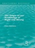 The Origin of Our Knowledge of Right and Wrong (Routledge Revivals) (eBook, PDF)