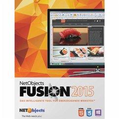 NetObjects Inc. Fusion 2015 Upgrade (Download für Windows)