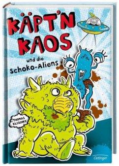 Käpt'n Kaos und die Schoko-Aliens / Käpt´n Kaos Bd.1 (Mängelexemplar) - Klischke, Thomas