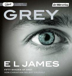 Grey - Fifty Shades of Grey von Christian selbst erzählt / Grey Bd.1 (2 MP3-CDs) - James, E L