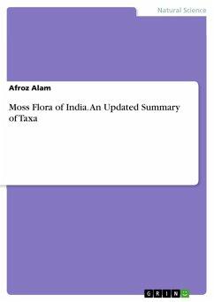 Moss Flora of India. An Updated Summary of Taxa (eBook, ePUB)