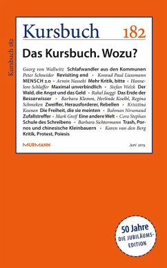 Kursbuch 182 (eBook, ePUB)