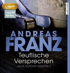 Teuflische Versprechen / Julia Durant Bd.8 (1 MP3-CDs) - Franz, Andreas