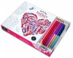 Vive le Color! Energy Coloring Book, w. Pencils