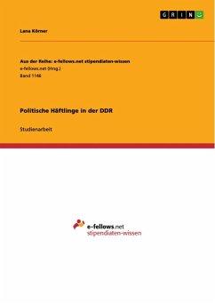 Politische Häftlinge in der DDR (eBook, ePUB)