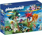 PLAYMOBIL® 6687 - Lost Island mit Alien und Raptor