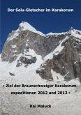 Der Solu-Gletscher im Karakorum