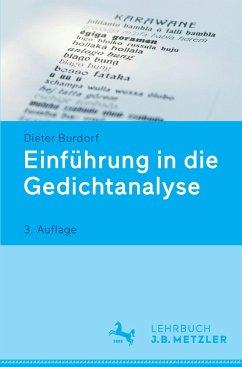 Einführung in die Gedichtanalyse - Burdorf, Dieter