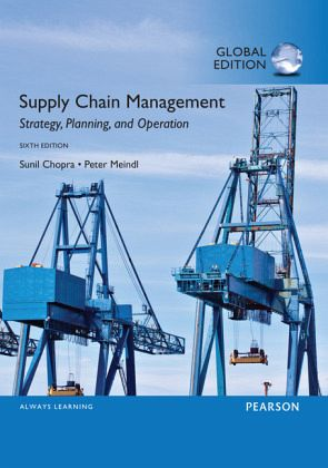 Supply Chain Management Strategy Planning and Operation 7th Edition