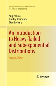 An Introduction to Heavy-Tailed and Subexponential Distributions - Foss, Sergey;Korshunov, Dmitry;Zachary, Stan