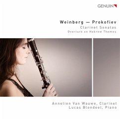 Klarinetten-Sonaten/Overture On Hebrew Themes - Van Wauwe/Blondeel