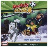 Teufelskicker - Heja Blau-Gelb! / Teufelskicker Hörspiel Bd.58 (1 Audio-CD)