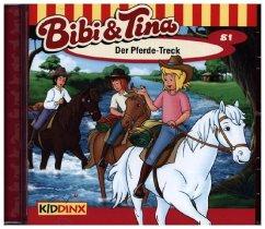 Der Pferde-Treck / Bibi & Tina Bd.81 (Audio-CD)