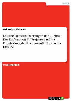 Externe Demokratisierung in der Ukraine. Der Einfluss von EU-Projekten auf die Entwicklung der Rechtsstaatlichkeit in der Ukraine (eBook, PDF)