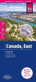 Reise Know-How Landkarte Kanada Ost / East Canada (1:1.900.000); Canada, est / Canadá oriental