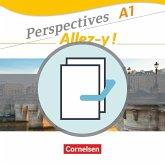 Perspectives - Allez-y ! A1. Kurs- und Arbeitsbuch und Sprachtraining im Paket