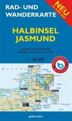 Rad- und Wanderkarte Halbinsel Jasmund