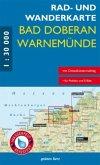 Rad- und Wanderkarte Bad Doberan, Warnemünde