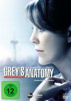 Grey's Anatomy - Die komplette 11. Staffel (6 DVDs)