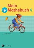 Mein Mathebuch 4. Jahrgangsstufe. Schülerbuch mit Kartonbeilagen. Ausgabe B für Bayern