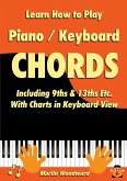 Learn How to Play Piano / Keyboard Chords Including 9ths & 13ths Etc. With Charts in Keyboard View
