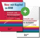 Entwurfs- und Berechnungstafeln für Bauingenieure und Entwurfs- und Konstruktionstafeln für Architekten