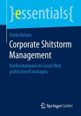 Corporate Shitstorm Management