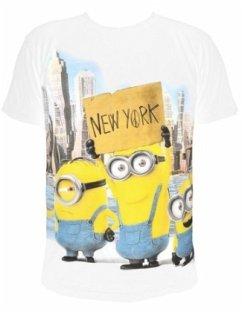 T-Shirt Minions New York, Größe M