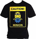 Minions Caution T-Shirt - Größe M