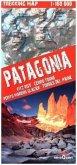 Comfort! map, Trekking Map Patagonia