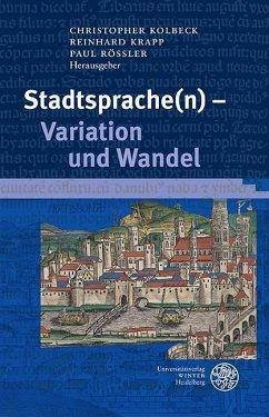 Stadtsprache(n) - Variation und Wandel (eBook, PDF)