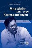 Max Mohr (1891-1937) Korrespondenzen (eBook, PDF)